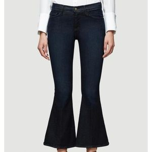 NWT Frame Le Crop Bell Jeans